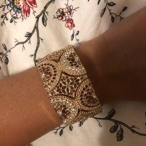 Rose Gold Sparkling Bracelet